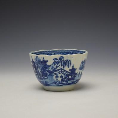 Worcester Temple Pattern Teabowl c1780-90 (6)