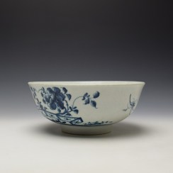Worcester The Prunus Fence Pattern Large Bowl c1755-60 (5)