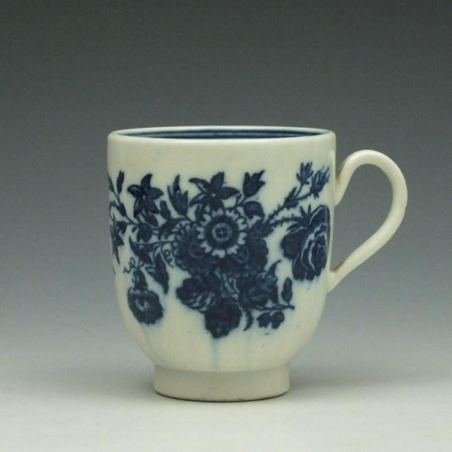 Caughlet Three Flowers Pattern Coffee Cup c1777-99 (1)