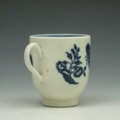 Caughlet Three Flowers Pattern Coffee Cup c1777-99 (4)