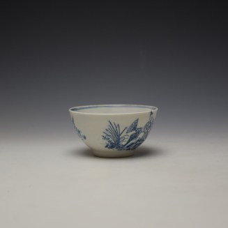 Lowestoft Chinese Tea Party Pattern Teabowl c1775-80 (2)