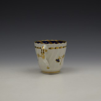 Worcester Flight Period Corn Sprigs Pattern Trio c1785 (5)