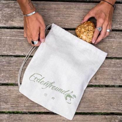 Erdenfreund Bio-Leinen Brotbeutel klein