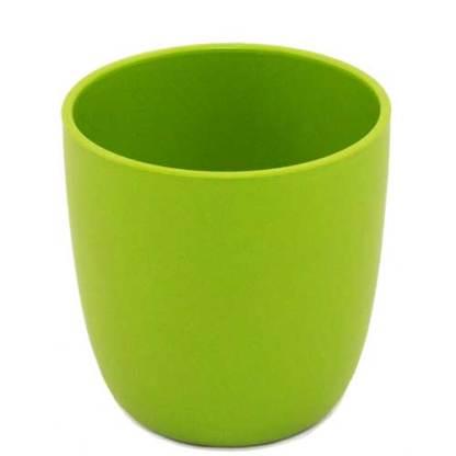 Plastikfreier Becher grün