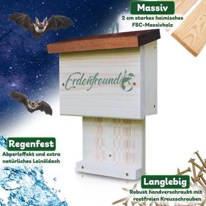 Fledermauskasten Erdenfreund