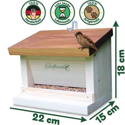 Vogelfutterhaus Maße