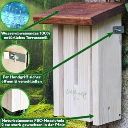 Schmetterlingshaus 3 Vorteile