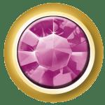 Mini Bezel Set – Swarovski Elements – Amethyst