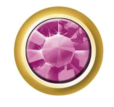 Regular Bezel Set - SWAROVSKI ELEMENTS - Amethyst