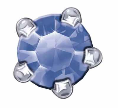 Claw Set - SWAROVSKI ELEMENTS - Sapphire