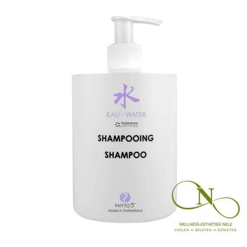 PHYTO 5 Shampoo Gel Boekweit Paardenstaart Water Wellness Esthetiek Nele