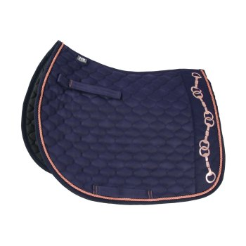 Hy Equestrian Exquisite Bit and Stirrup Collection Saddle Pad
