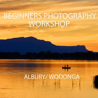 Albury Wodonga Beginners Photography Workshop