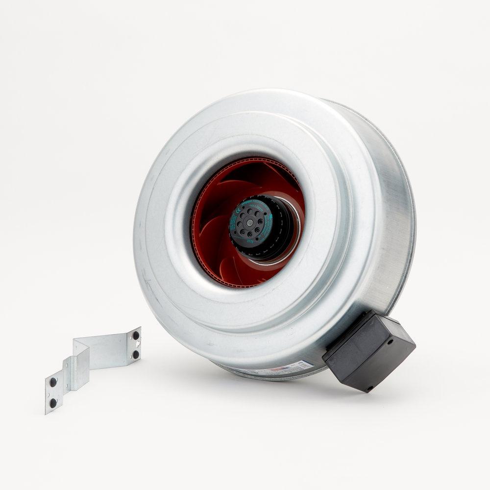 fg 12 centrifugal inline fan inline