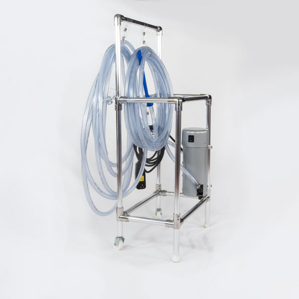 pump cart right view