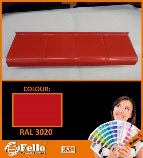 farba proszkowa ral 3020