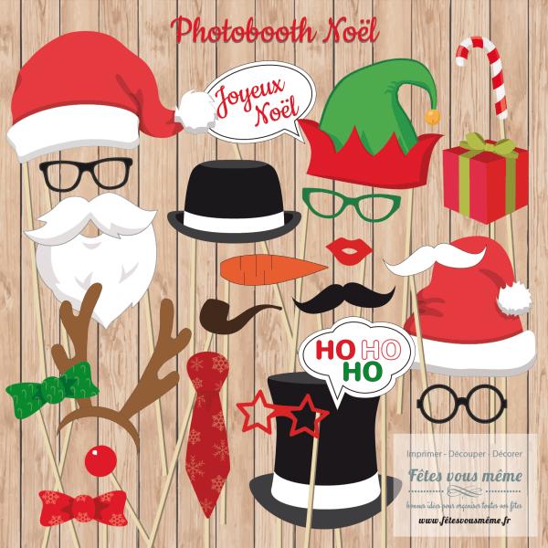 Photobooth Noël - Fêtes vous même
