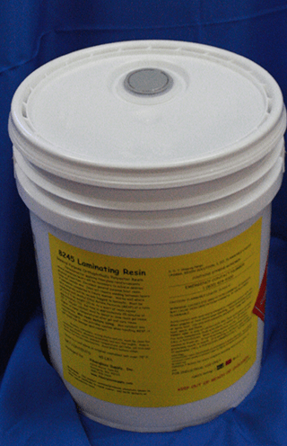 5 Gallon Fiberglass Resin Polyester Resin