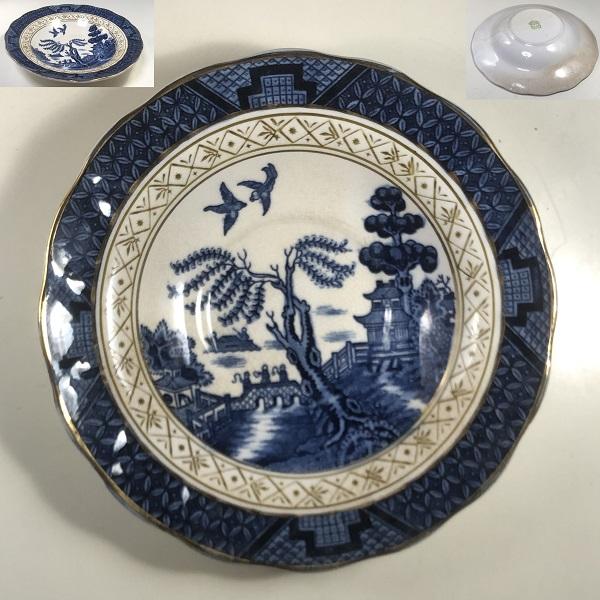 ニッコー日本硬質陶器ウイローソーサー
