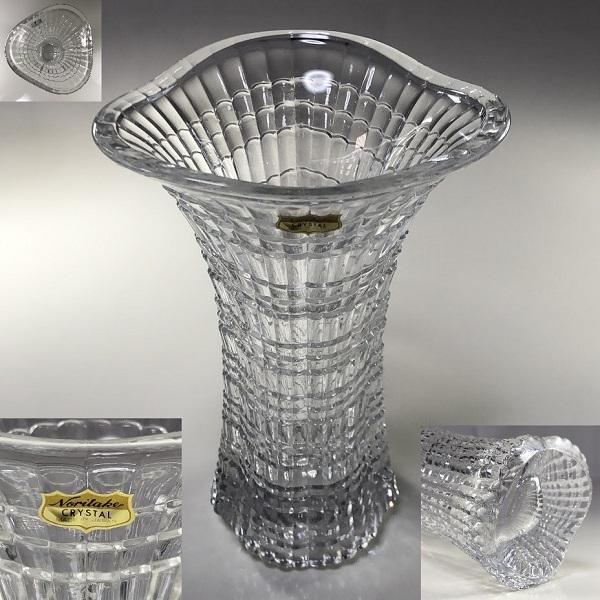 ノリタケクリスタル花瓶T1984