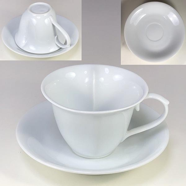 滋山窯白磁碗皿