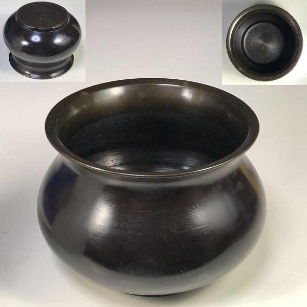 真鍮建水W7818