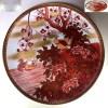 九谷焼九谷竹隆一尺大皿飾皿