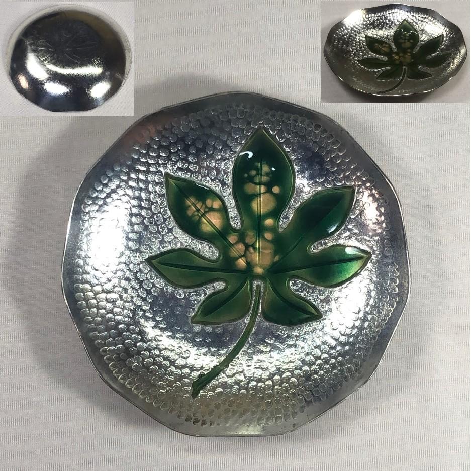 純銅七宝銘々皿W7050