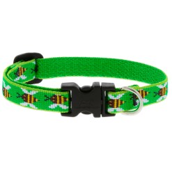 Lupine Green Bees Collar