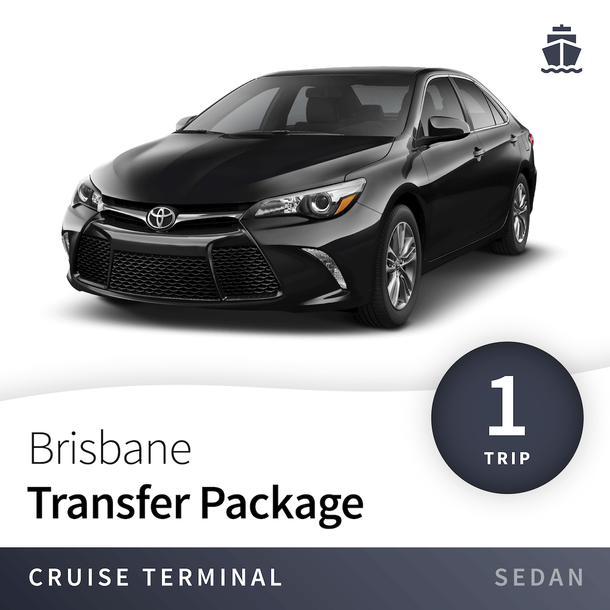 Brisbane Cruise Terminal Transfer Package - Sedan (1 Trip) 1