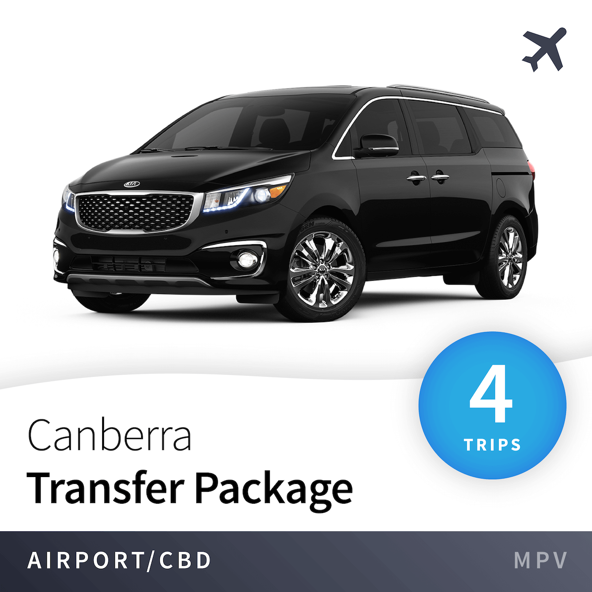 Canberra Airport Transfer Package - MPV (4 Trips) 1