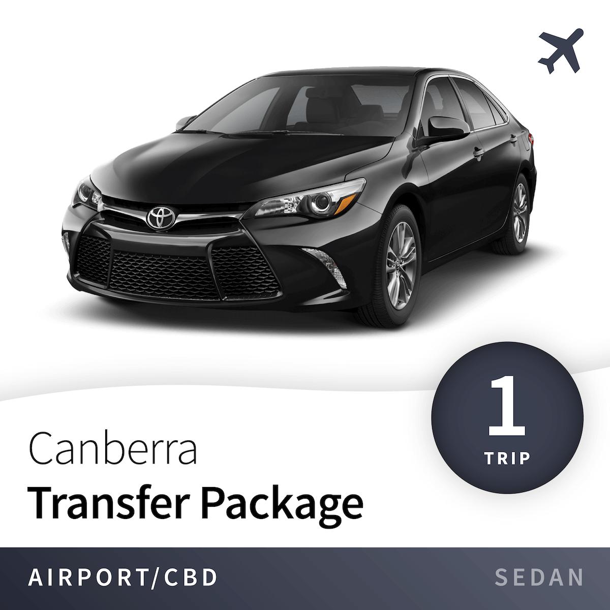 Canberra Airport Transfer Package - Sedan (1 Trip) 1
