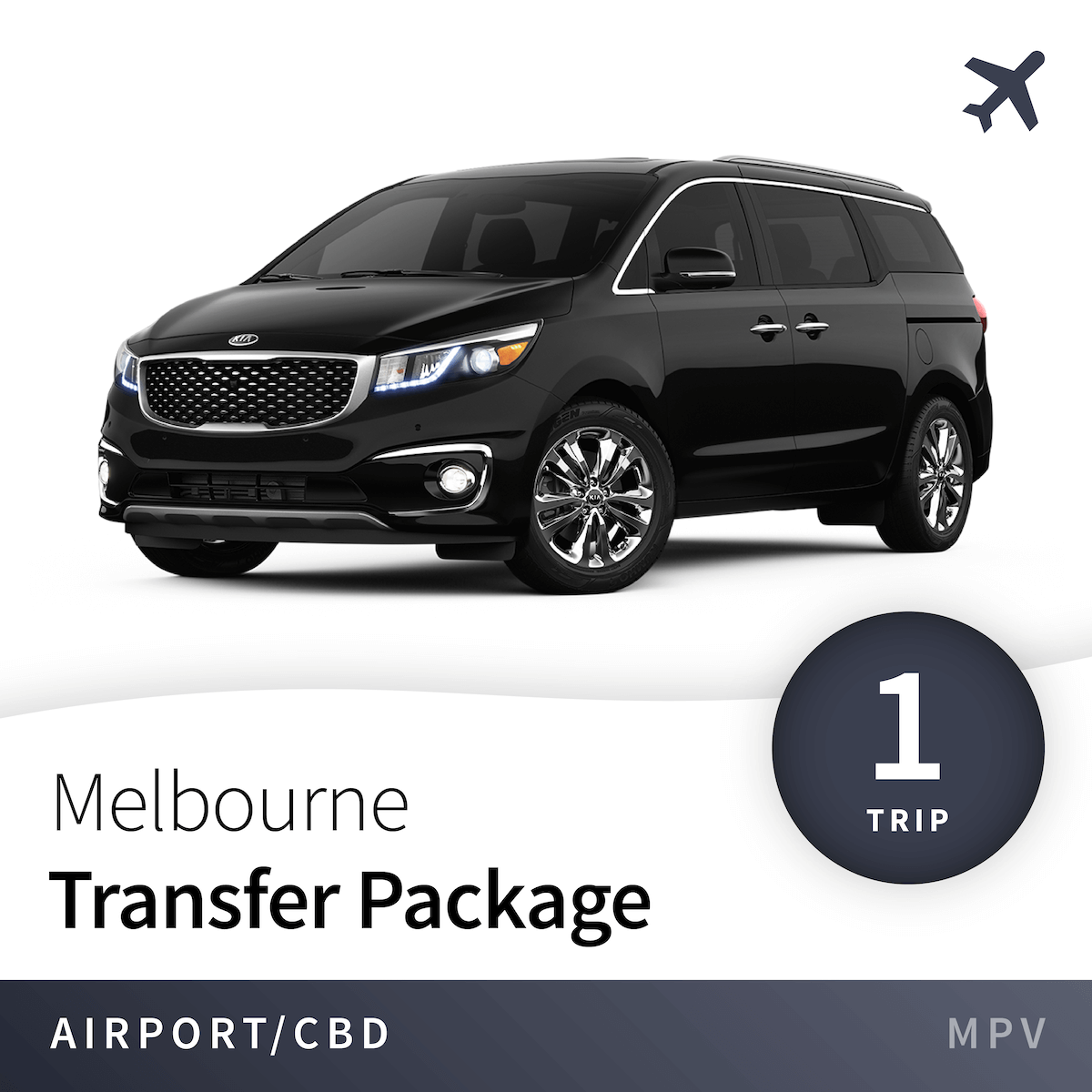Melbourne Airport Transfer Package - MPV (1 Trip) 2