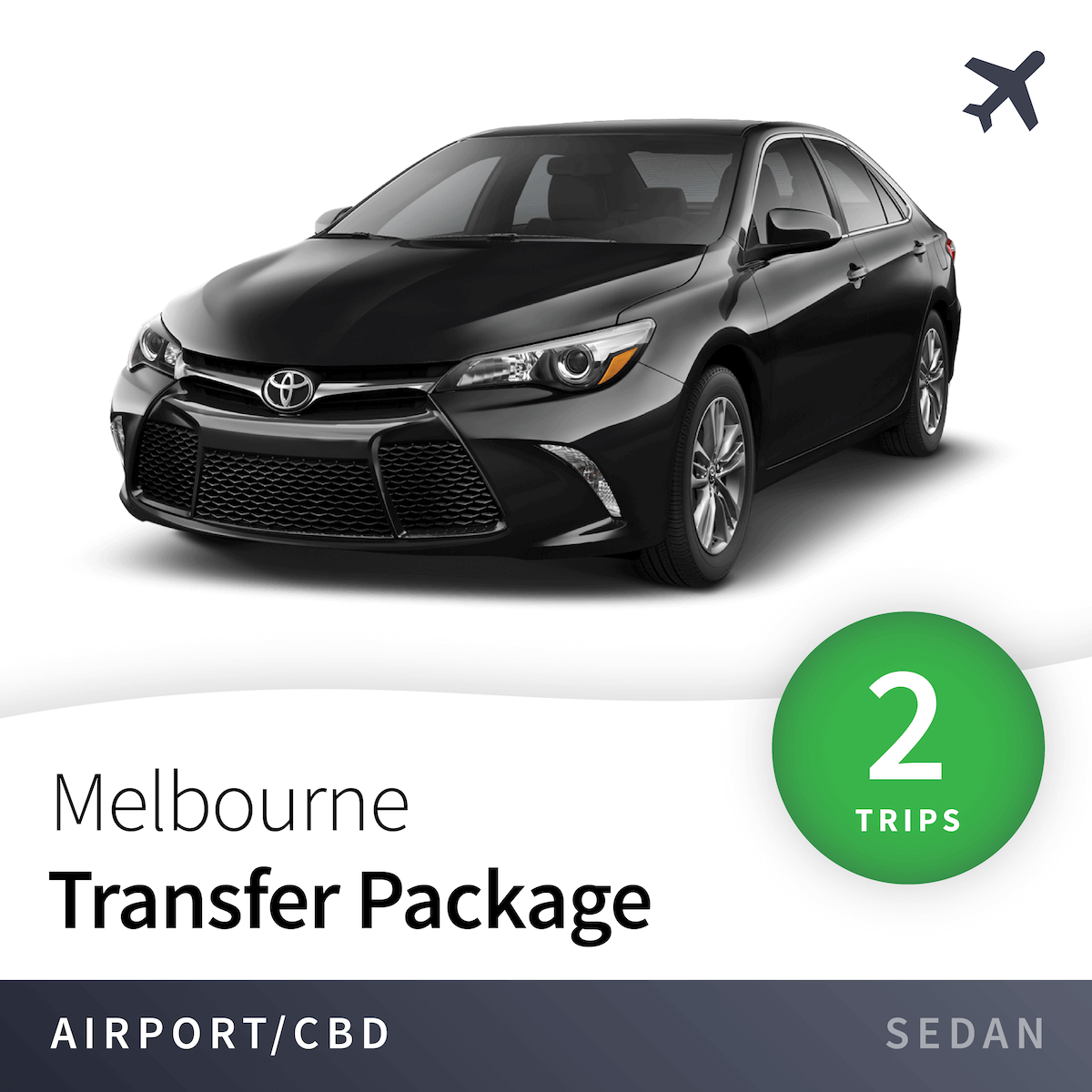 Melbourne Airport Transfer Package - Sedan (2 Trips) 9