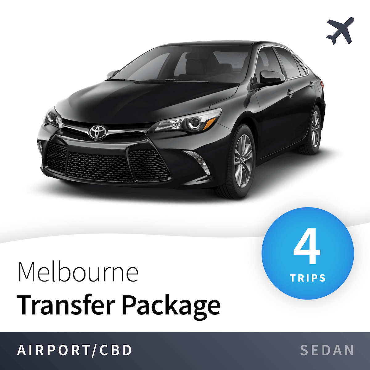 Melbourne Airport Transfer Package - Sedan (4 Trips) 1