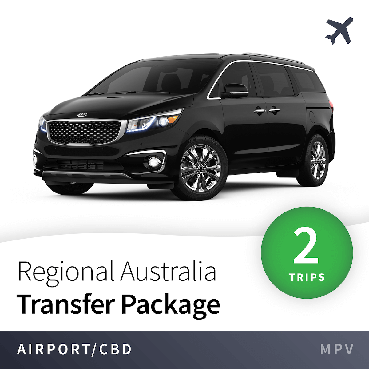 Regional Airport Transfer Package - MPV (2 Trips) 1