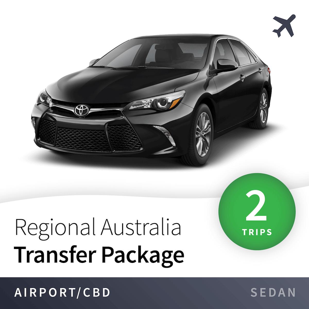 Regional Airport Transfer Package - Sedan (2 Trips) 14