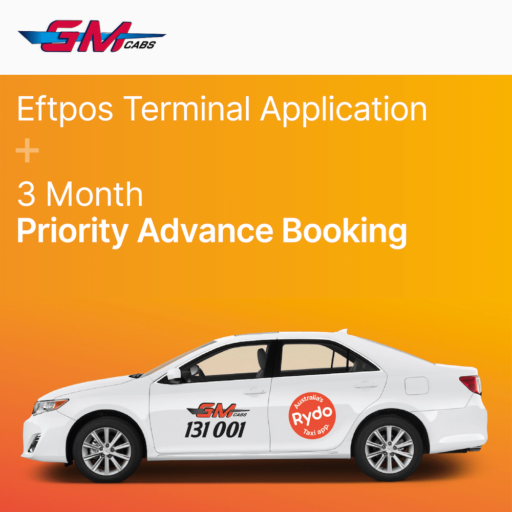 GM CABS - Eftpos Terminal & Priority Advance Booking 22