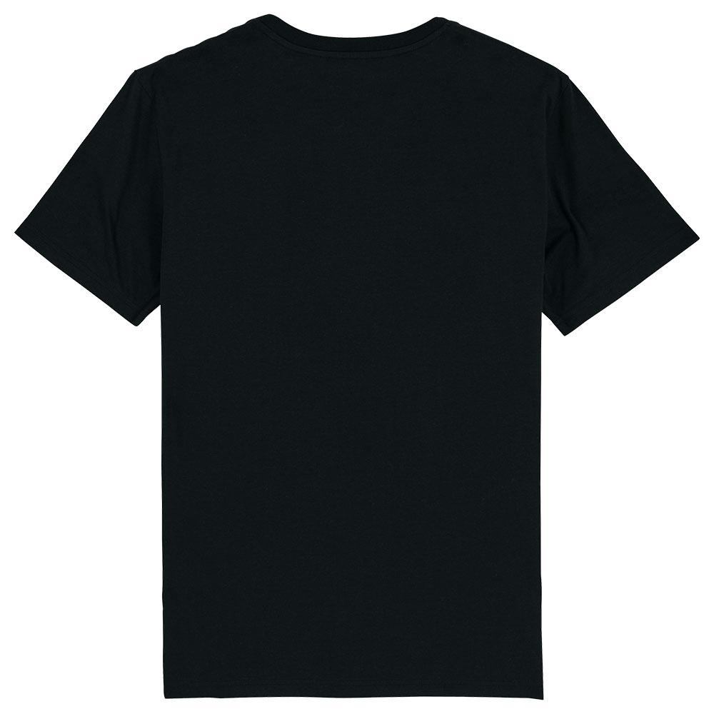 Mokum shirt zwart-rood achter