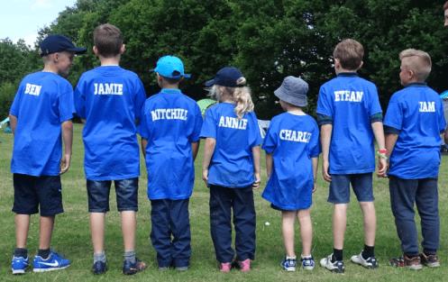Group Camp Blue Team