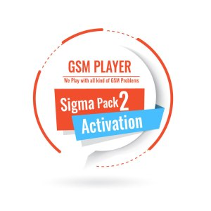 Sigma Pack 2 Activation