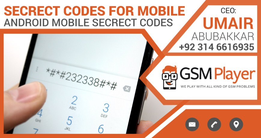 Secret Codes for Android Mobile Phones