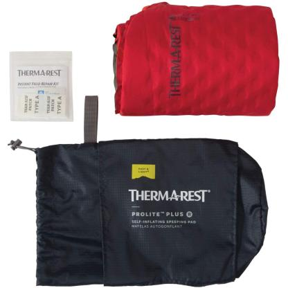 Therm-a-Rest Prolite Plus Ultralight Self-Inflating Backpacking Pad with WingLock Valve, Regular - 20 x 72 Inches