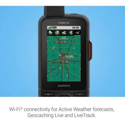 Garmin Gpsmap 66i GPS Handheld and Satellite Communicator