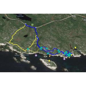 Polly's Cove GPS Map