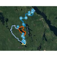 Crowbar Lake Trails GPS Map Files