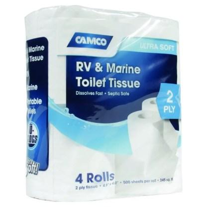 RV & Marine Biodegradable Toilet Tissue