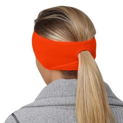 Women's Ponytail Headband – hunter orang