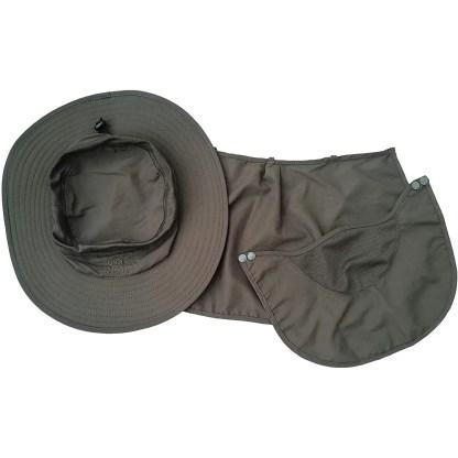 Ddyoutdoor Sun Protection Fishing Cap Neck Face Flap Hat