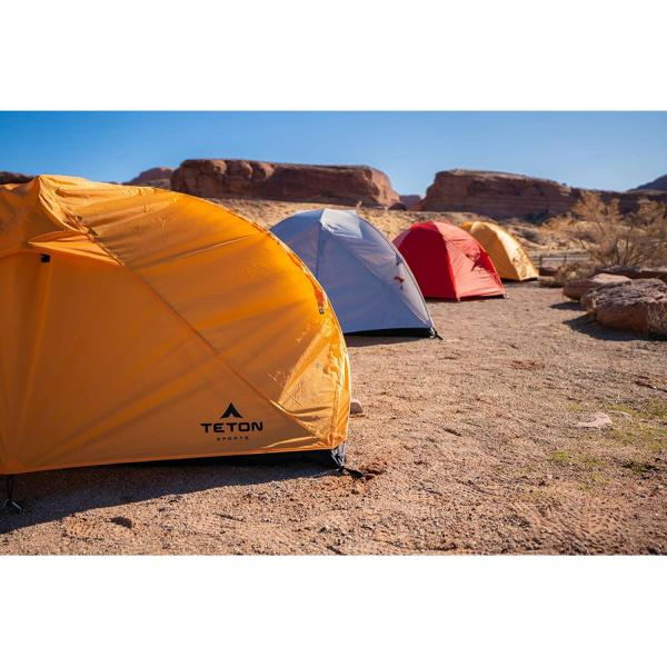 TETON Sports Mountain Ultra Tent; 1-4 Person Backpacking Dome Tent for Camping